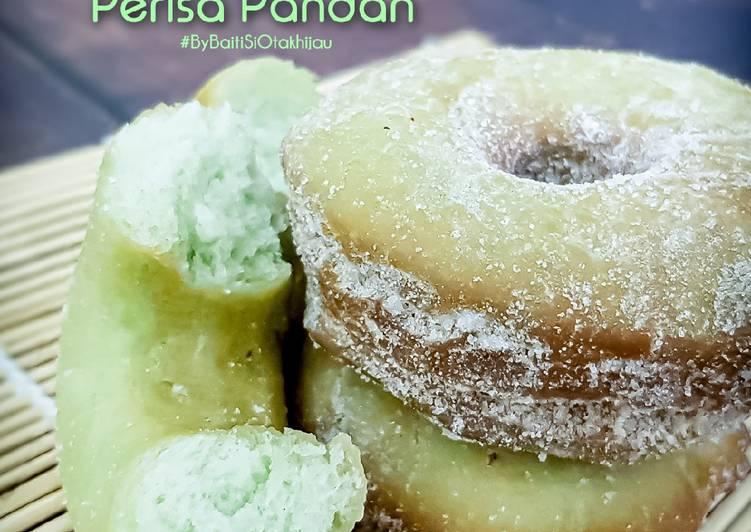 Resepi:  Donut Gebu Mudah Perisa Pandan  Termudah