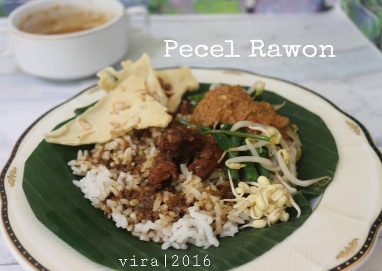 Nasi Pecel Rawon