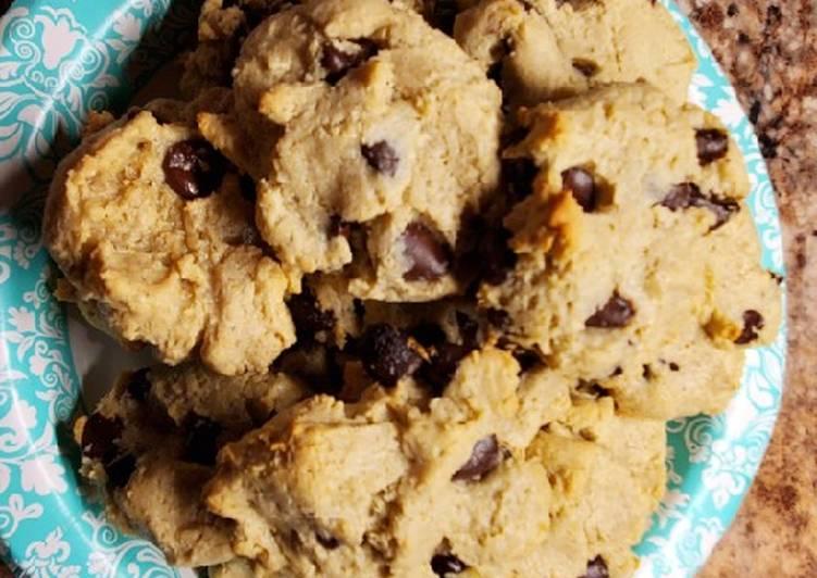 SF, Gluten Free, Vegatarian, Cashew flour Choc. Chip cookies