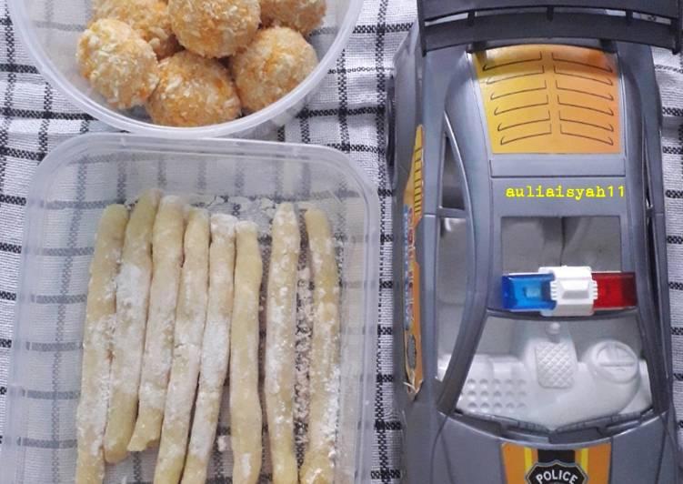 Stick Kentang keju dan potato cheese ball