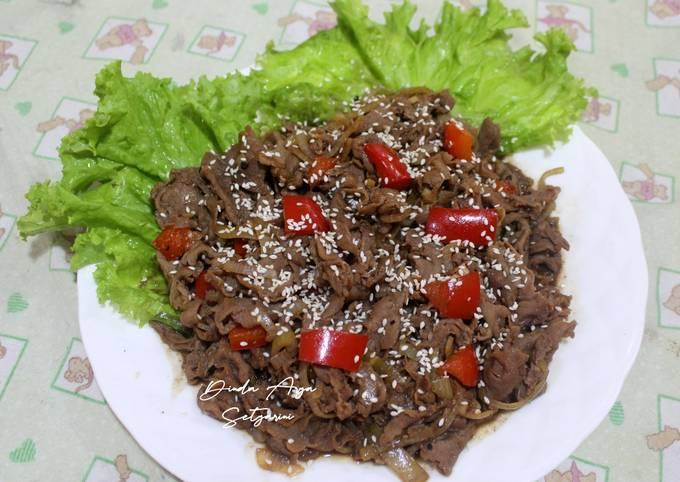 Beef Slice Black Pepper / Daging Sapi Lada Hitam (Saori) - projectfootsteps.org