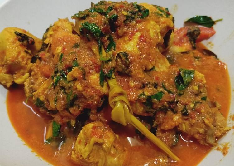 Resep Ayam Woku Kemangi ekonomis