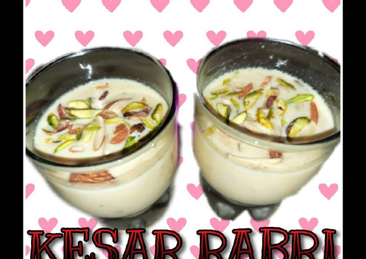 Recipe of Award-winning Kesar rabri