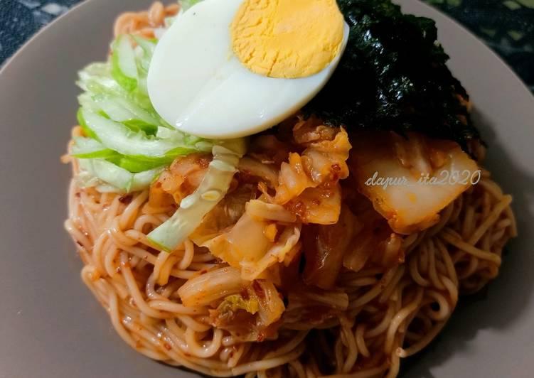 Bibim-Naengmyeon || Mie Dingin Pedas