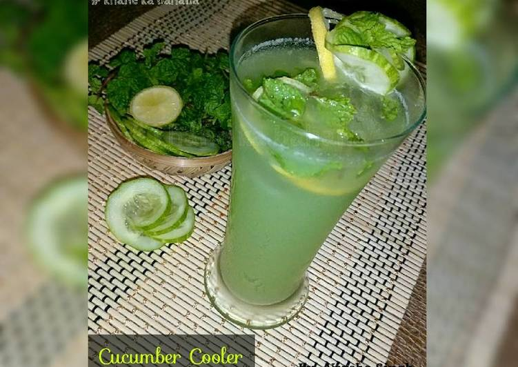 10 Minute Step-by-Step Guide to Make Diet Perfect Cucumber Cooler
