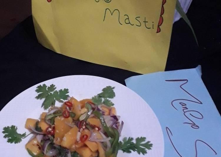 Recipe: Perfect Mango salad (for diet)
