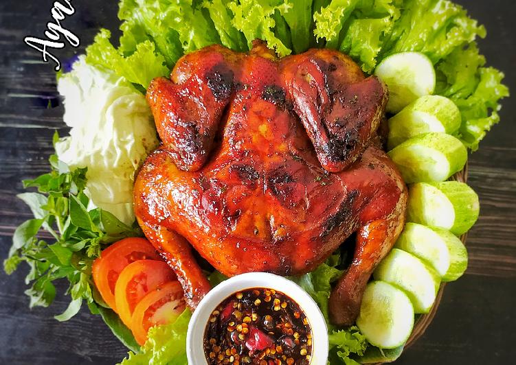 Ayam panggang kecap (simpel)