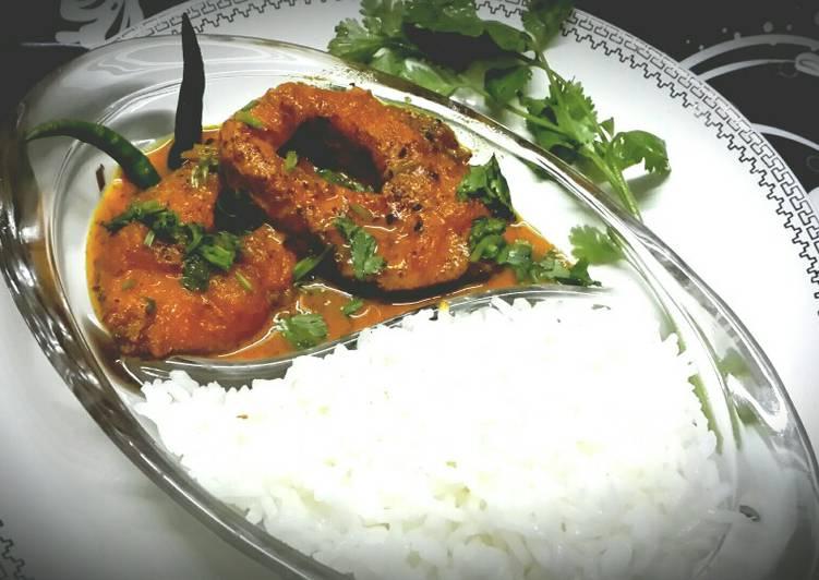 Recipe of Favorite Rui Shorshe(Rohu fish in mustard paste)