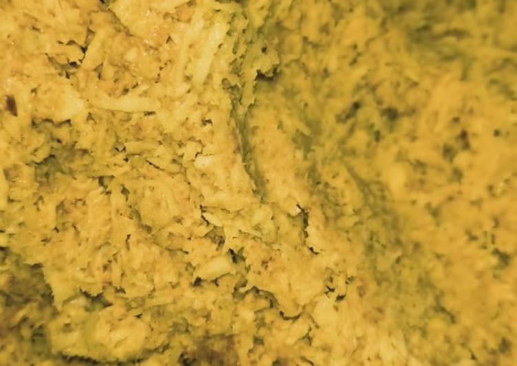 Kelapa Bumbu Kuning (serundeng) - cookandrecipe.com