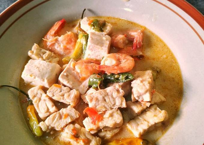 sambal goreng tahu tempe udang - resepenakbgt.com