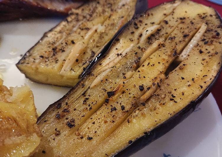 Easiest Way to Prepare Favorite Roasted Garlic Aubergine