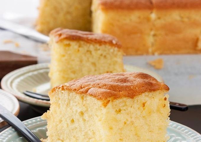 The Wong Butter Cake