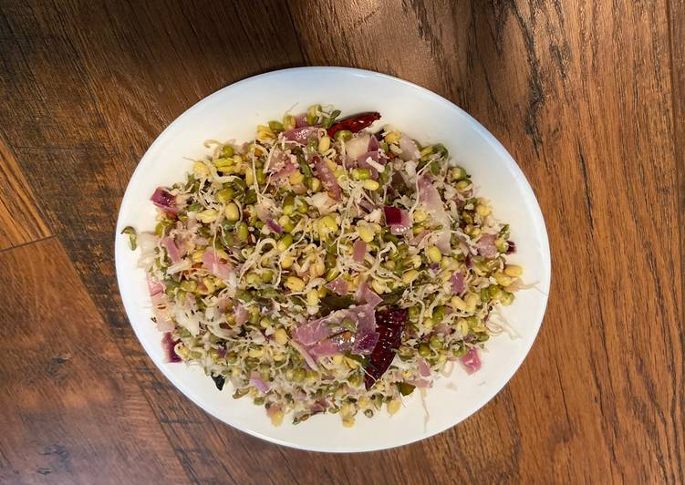 Step-by-Step Guide to Prepare Homemade Protein Packed Sprouts