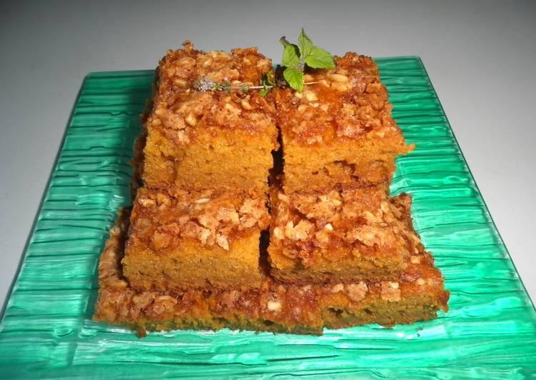 Torta De Calabaza Zanahoria Y Manzana Receta De Manogalindo Cookpad