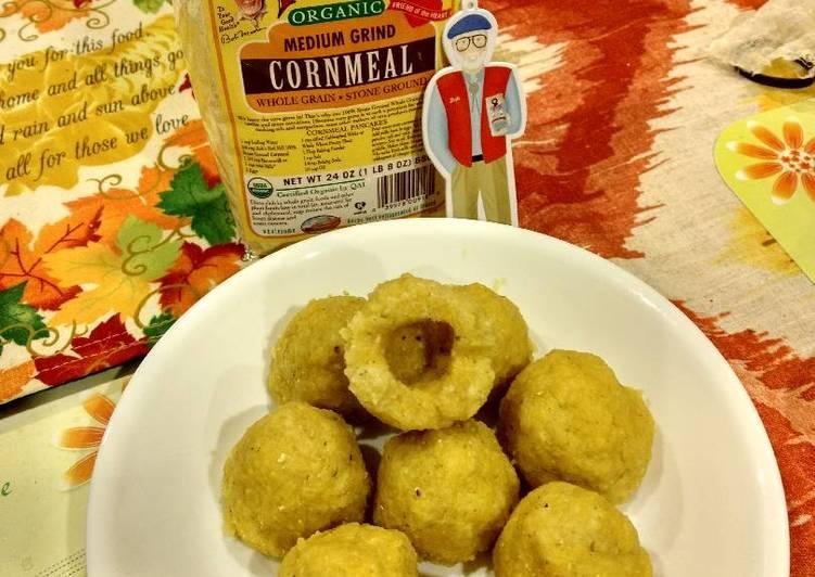 Steamed wotou (nonleven cornbread) 红薯🍠窝头