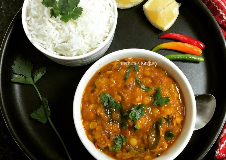25 Minute Recipe of Special Spring Onion Dal