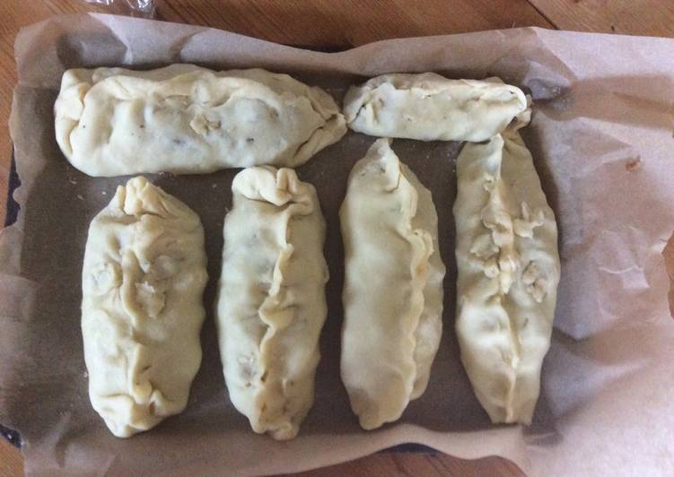 Steps to Make Ultimate Just made some Cornish pasties. Delicious!