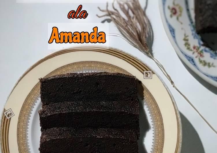 Brownies Kukus ala Amanda