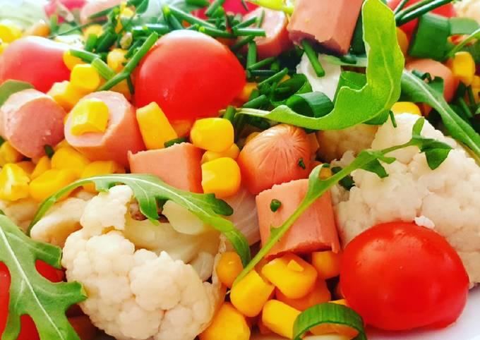 Salade de chou fleur
