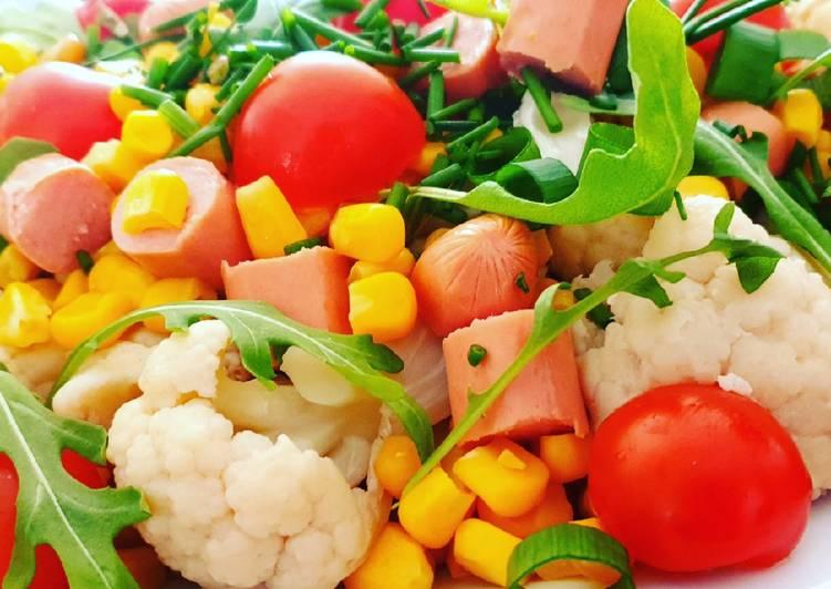 recette Salade de chou fleur le délicieux