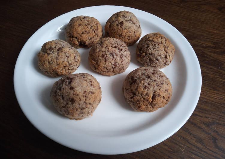 Rochers de coco au chocolat