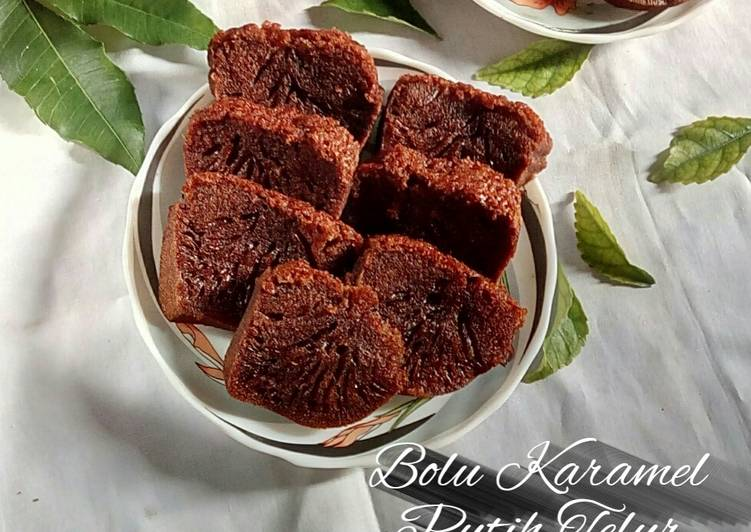 Bolu Karamel / Sarang Semut Putih Telur - cookandrecipe.com