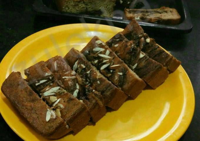 Easiest Way to Cook Yummy Chocolate filled whole wheat banana bread