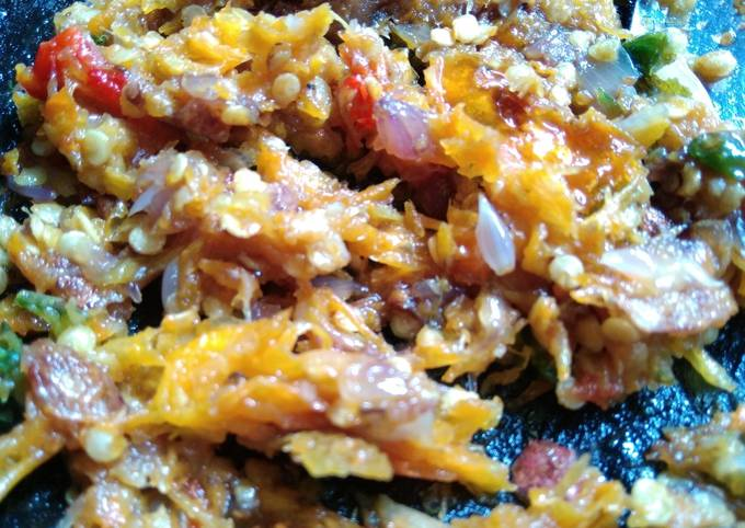 Resep Sambal cabe bawang merah nampol yang Sempurna