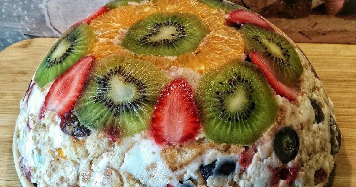 люблю легкий фруктовый торт рецепт с фото уэнэм просто