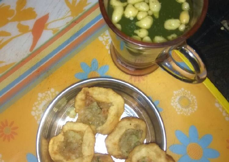 10 Minute Recipe of Love Pani puri