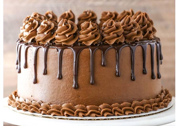 Homemade Chocolate Cake by Love, Life, Sugar