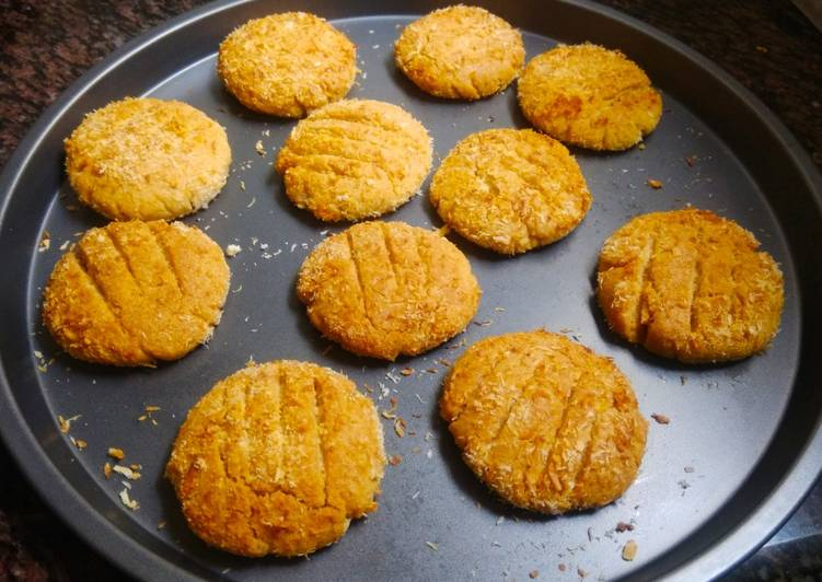 Wheat flour cookies