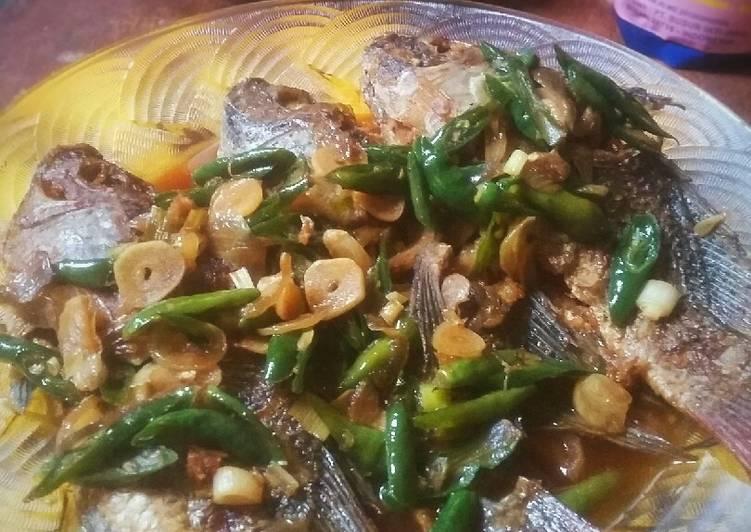 Ikan Nila Masak Lombok Ijo #SelasaBISA
