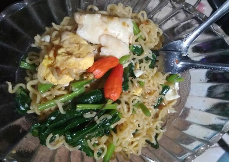 Resep Mie goreng nyemek ala saya (Indomie) Paling dicari