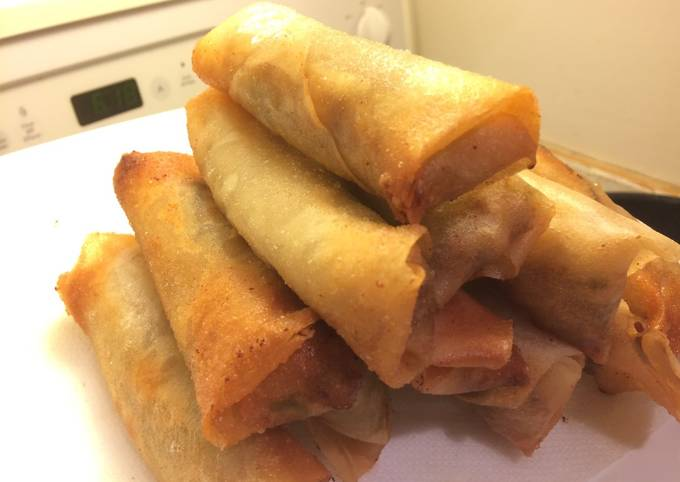 The basic recipe of Spring Roll