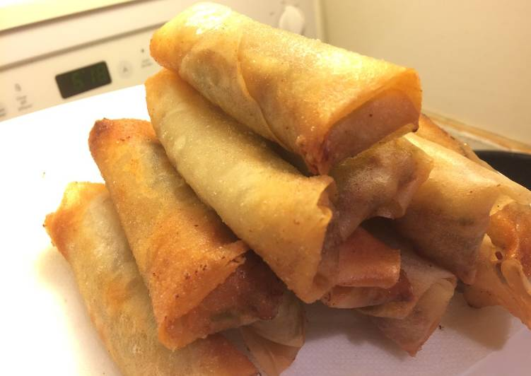 Easiest Way to Make Homemade The basic recipe of Spring Roll