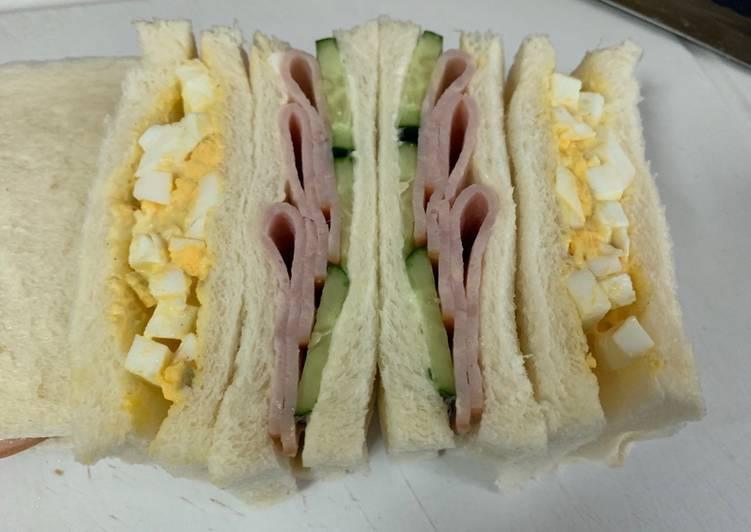 Recipe: Delicious Egg & Mayonnaise Sandwich (Japanese style)