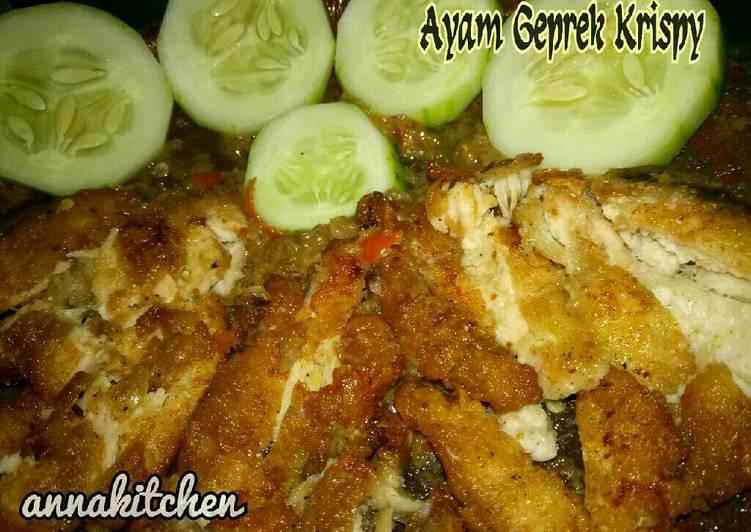 Ayam Geprek Krispy