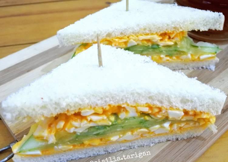 Resep Sandwich Telur Mayo Ala Japanese Bikin Ngiler