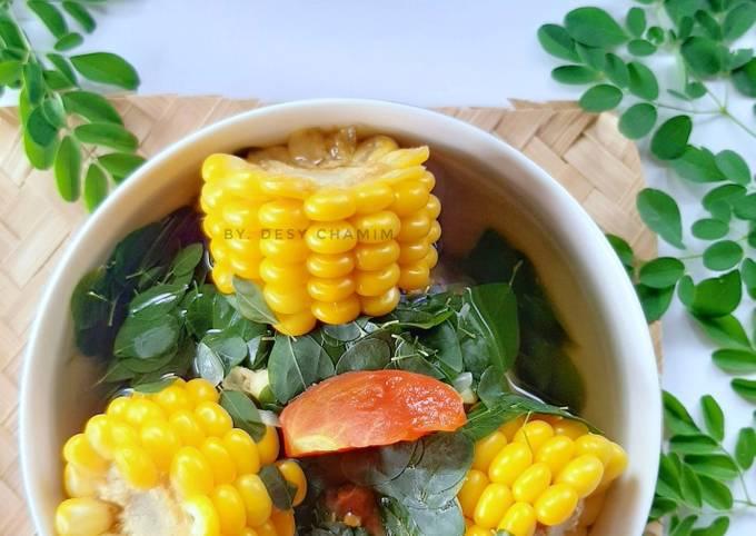 Sayur Bening Daun Kelor (Sayur Marungga)