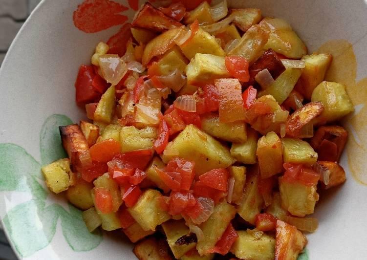 Super Easy Vegan Potato Skillet❤