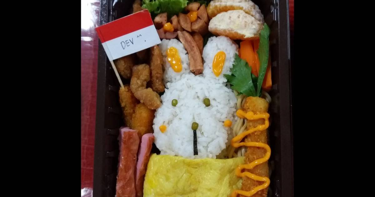 Resep Nasi Bento 4 Sehat 5 Sempurna Oleh Deva Easter Nethania