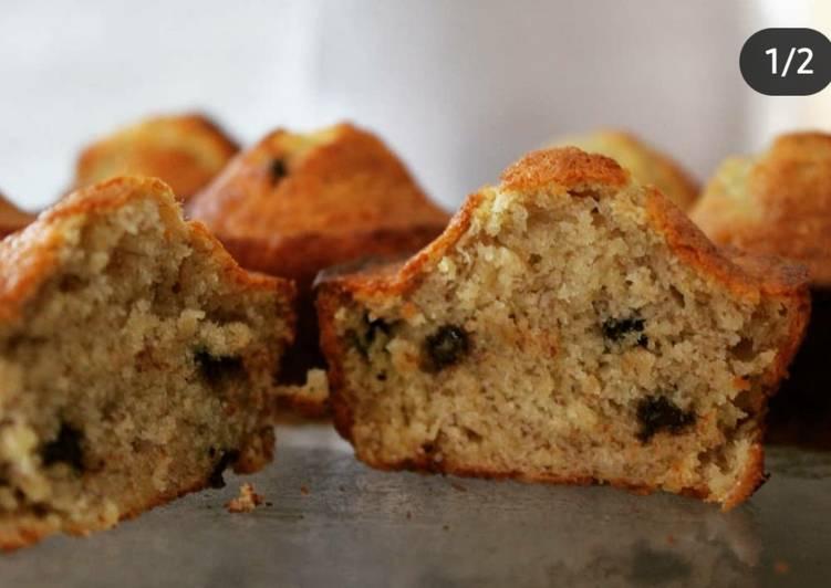 Banana Bread façon muffins