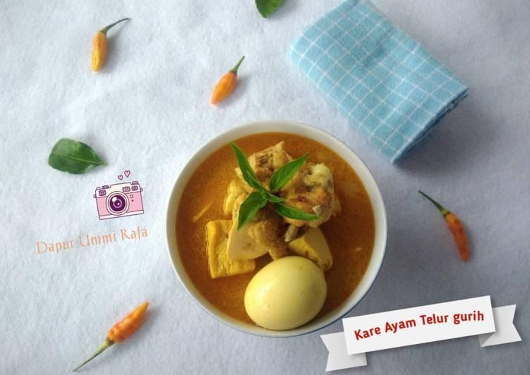 Kare Ayam Telur Gurih - cookandrecipe.com