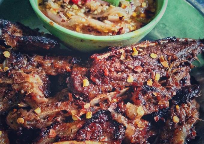 Daging bakar danok ala thai