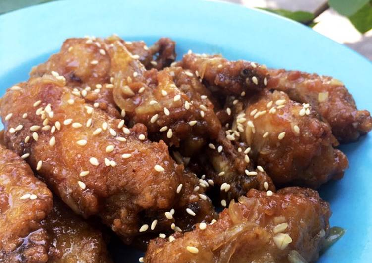 Suwon Galbi Fried Chicken (Ayam Goreng Film Extreme Job)