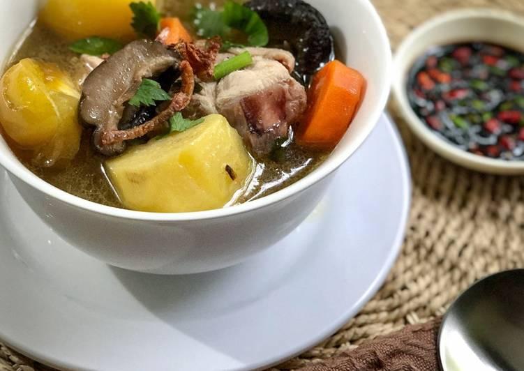 Sup Ayam Mudah - velavinkabakery.com