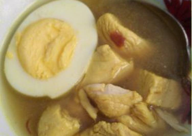 Soto Ayam Simple