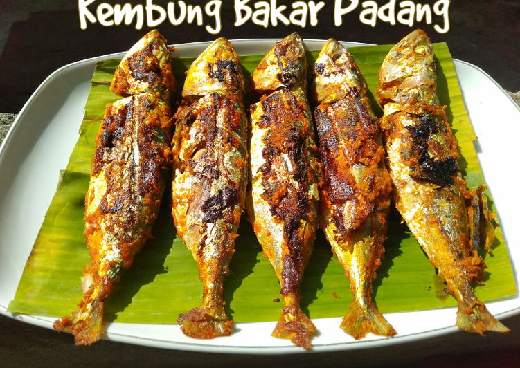 Kembung Bakar Padang