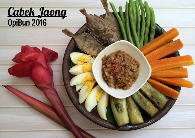 Resep Cabek Jaong Oleh Opibun Cookpad